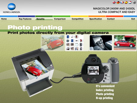 Konica Minolta 2430dl photoprint