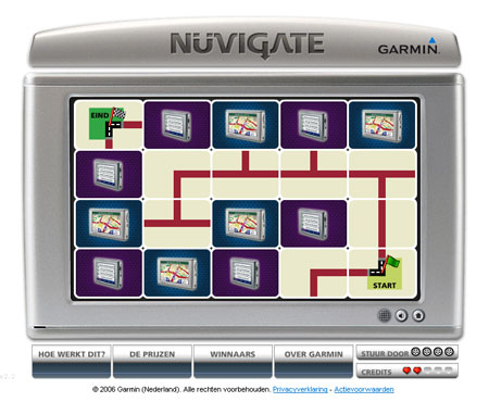 Garmin Nüvigate game