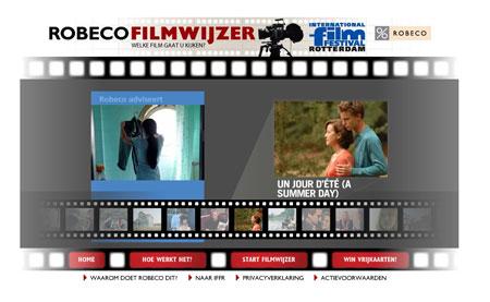 Robeco Filmwijzer Draai aan de filmrol en win een prijs